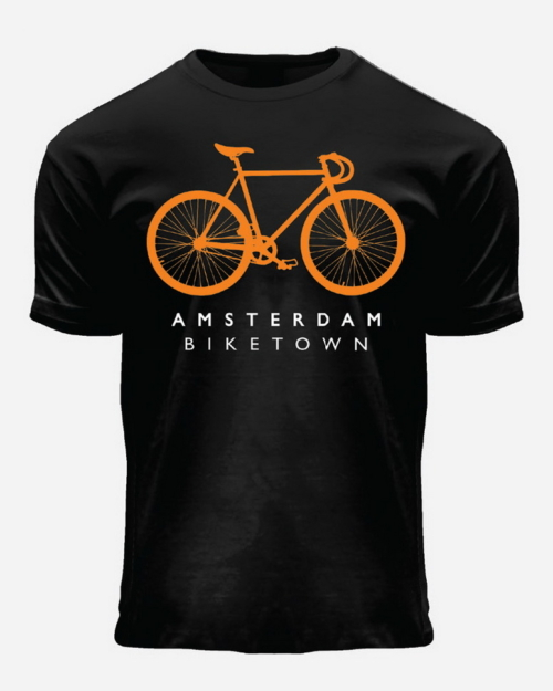 Fixie Orange Kids T-Shirt