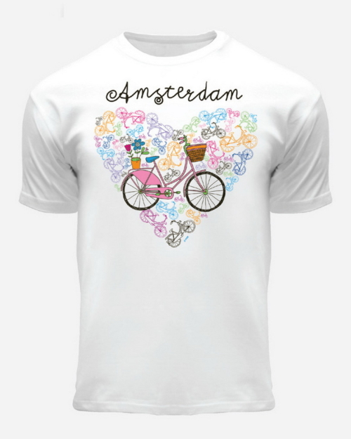 Bike Heart Kids T-Shirt