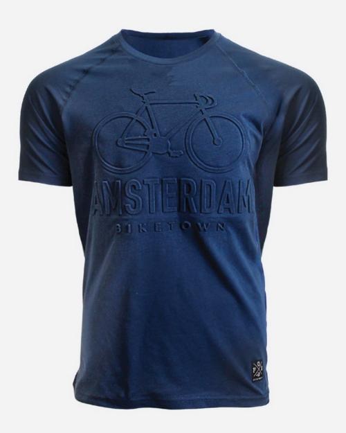 Embossed BikeTown Kids Blue