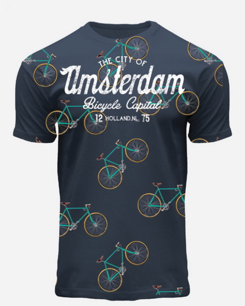 Bicycle Capital Amsterdam T-Shirt
