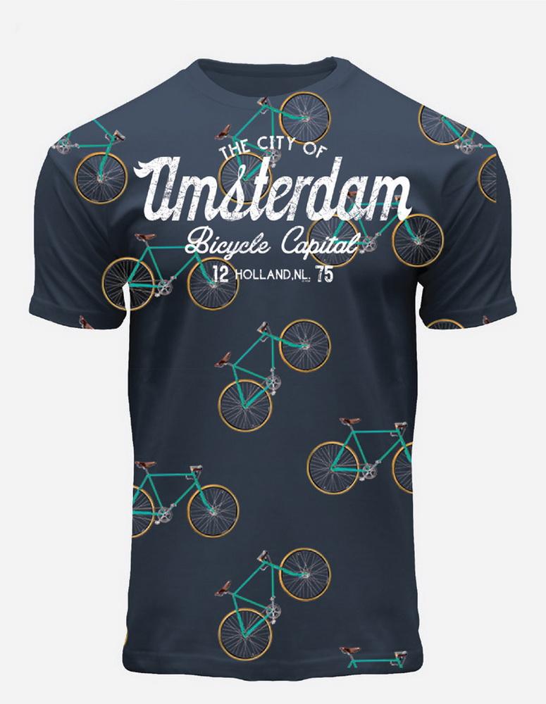 Bicycle Capital Amsterdam T-Shirt