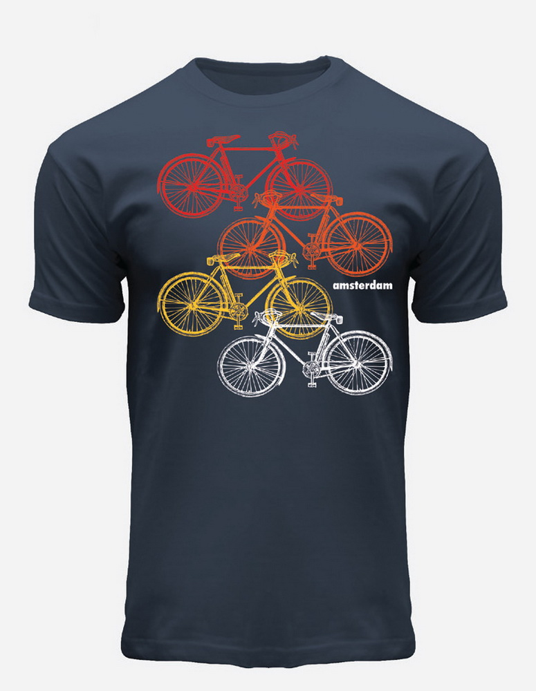 this is a picture of Four Big Bikes T-Shirt
