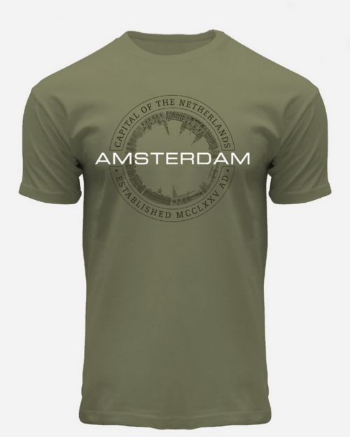 this is a Capital Amsterdam T-Shirt
