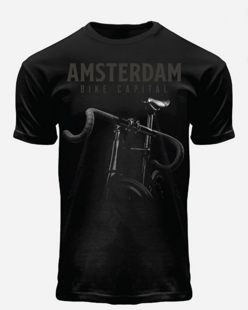 image of Bike Capital Amsterdam T-Shirt