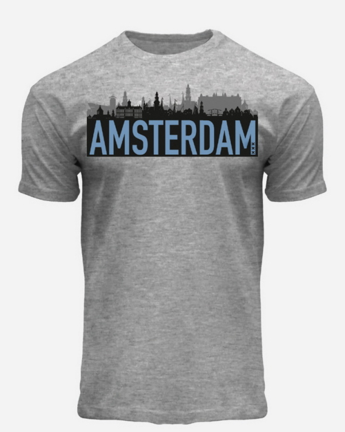 this is a Amsterdam Skyline T-Shirt