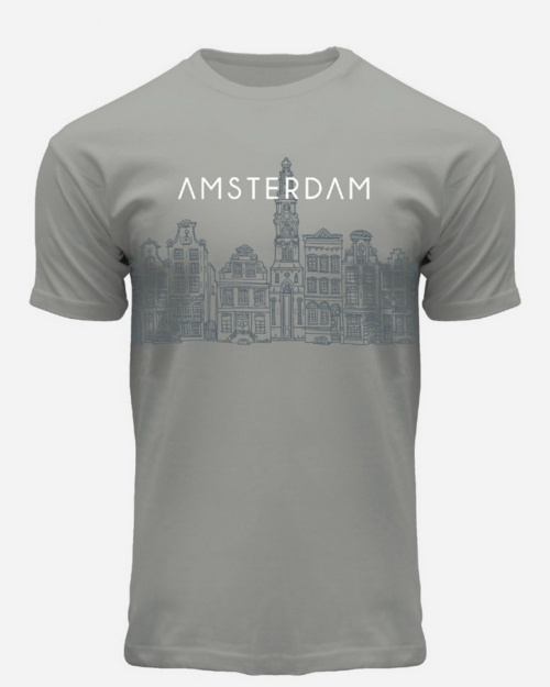 this is a Skyline Amsterdam T-Shirt Grey