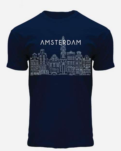 this is a Skyline Amsterdam T-Shirts Blue
