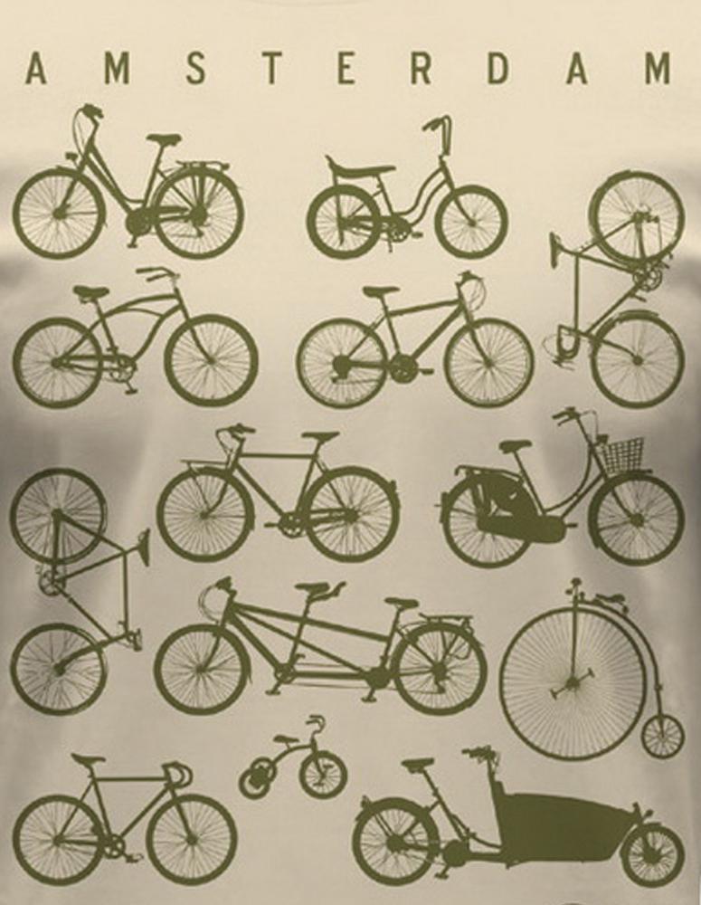 Bike Crazy Amsterdam T-Shirt