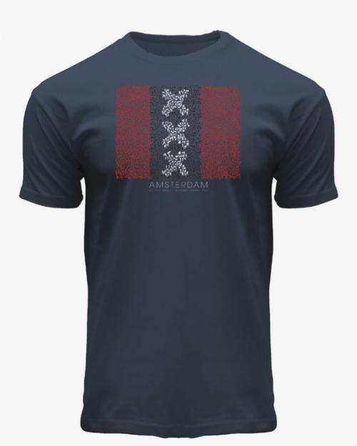 Amsterdam XXX Flag T-Shirt