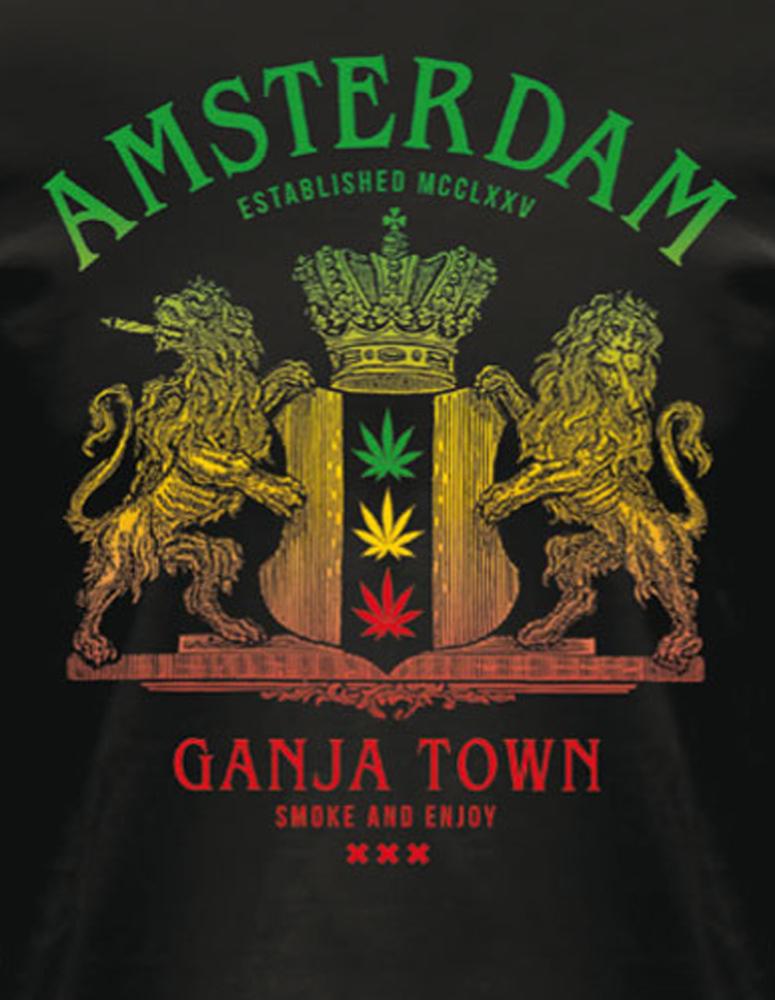 Ganja Town Amsterdam T-Shirt