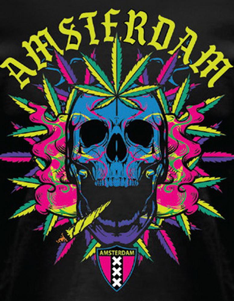 Skull Amsterdam T-Shirt