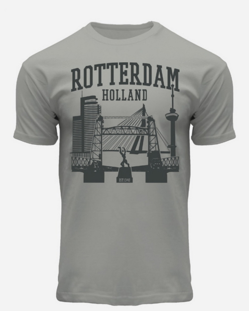 Port of Rotterdam T-Shirt Grey