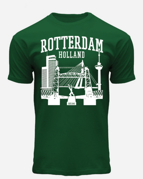 Port of Rotterdam T-Shirt Green