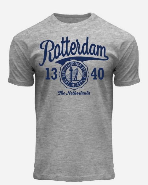 Rotterdam 1340 T-Shirt Grey