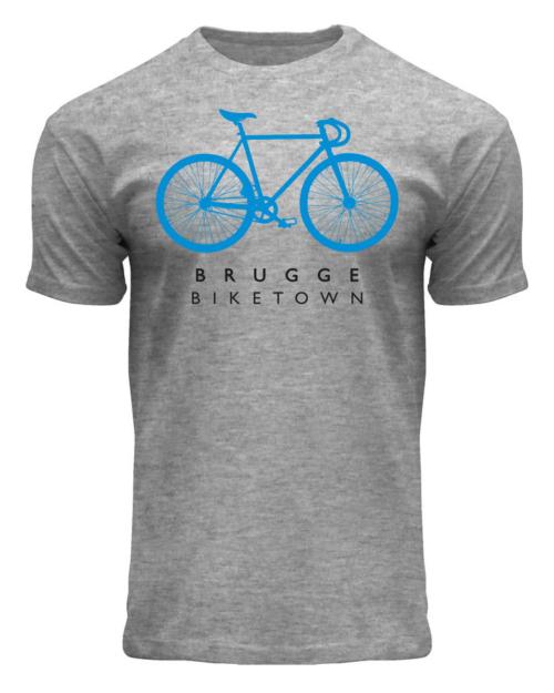 Brugge Biketown T-Shirt Grey