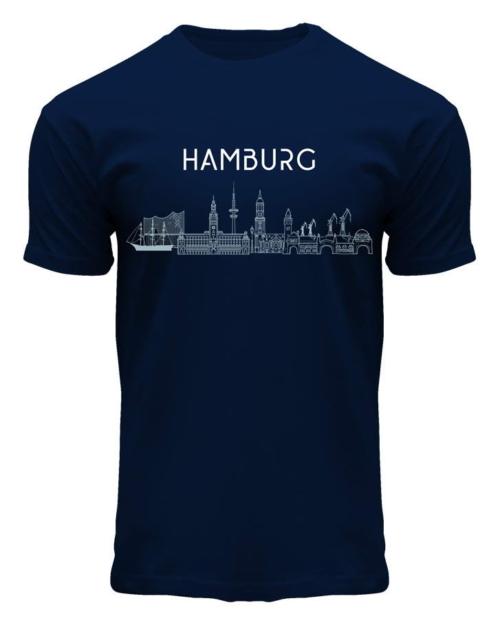 Hamburg Skyline T-Shirt