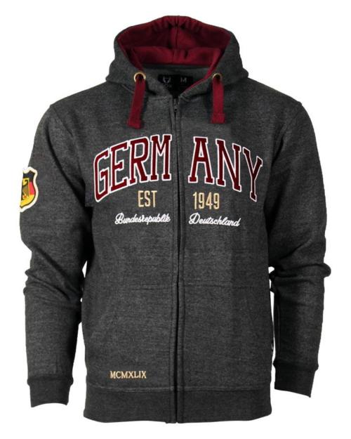 Germany Zipper 1949 Hoodie